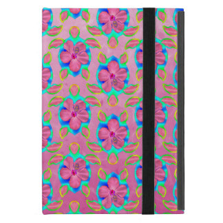 Pink Hawaiian Honu Pattern Covers For iPad Mini
