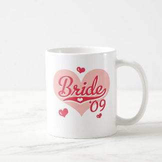 Pink Heart 09 Bride Mug