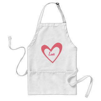 Pink Heart Aprons