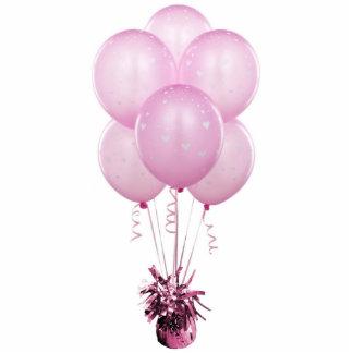 Pink Heart Balloons Sculpture Photo Sculptures