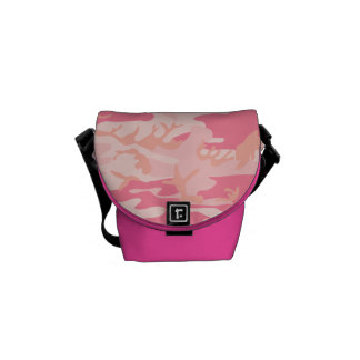 Pink heart camouflage mini messneger bag courier bag