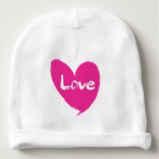 Pink Heart Cotton Beanie Baby Hat Baby Beanie