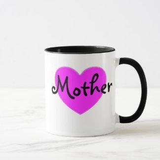Pink Heart Mother Mug