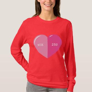 Pink Heart Pill Capsule T-Shirt
