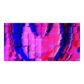 Pink HEART - Street SMART Customized Photo Card