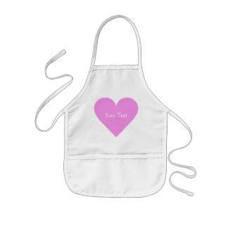 Pink Heart Valentine custom aprons