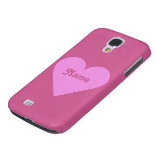 Pink Heart Valentine custom cases
