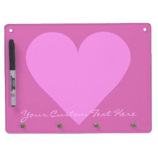 Pink Heart Valentine custom message boards