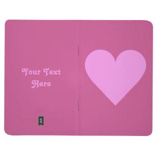 Pink Heart Valentine custom pocket journal