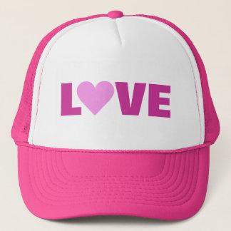 Pink Heart Valentine LOVE hat