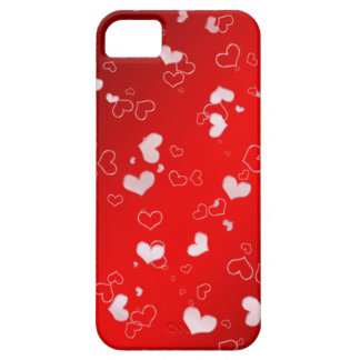 Pink hearts barely there iPhone 5 case