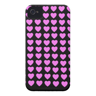 Pink Hearts BlackBerry Bold Case-Mate Barely There iPhone 4 Case-Mate Case