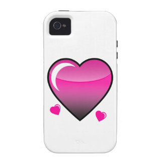 Pink Hearts Case-Mate iPhone 4 Cases