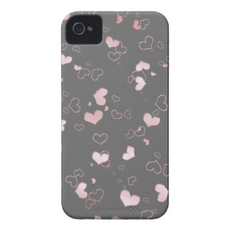Pink hearts Case-Mate iPhone 4 case