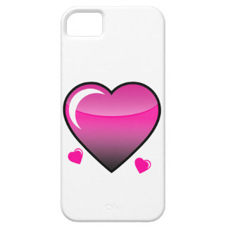 Pink Hearts Cover For iPhone 5/5S
