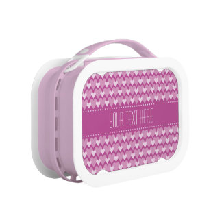 Pink Hearts custom lunch box