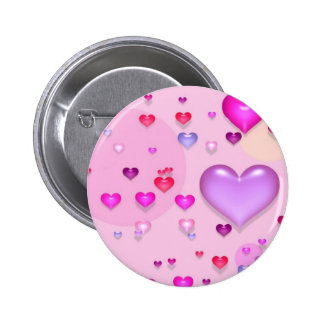 Pink hearts for the St. Valentine's day -