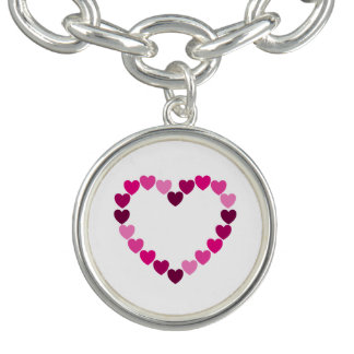 Pink hearts heart