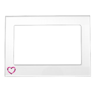 Pink hearts heart frame