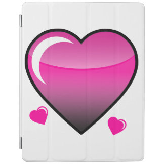 Pink Hearts iPad Cover