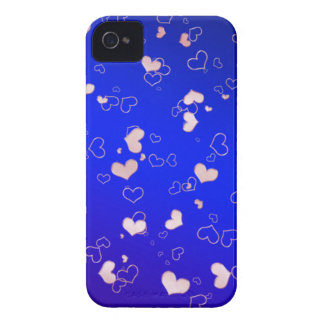 Pink hearts iPhone 4 case