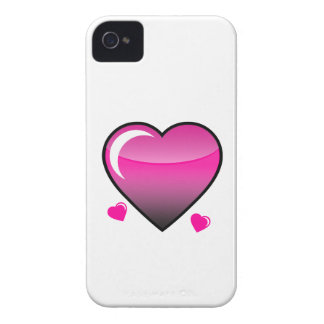 Pink Hearts iPhone 4 Covers