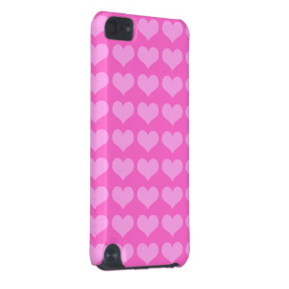 pink hearts iPod Touch case
