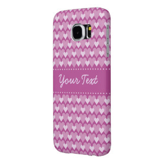 Pink Hearts phone cases