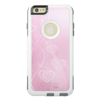 Pink Hearts Pink Plaid OtterBox Commuter iPhone 6