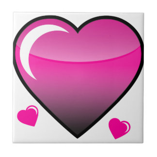 Pink Hearts Tiles