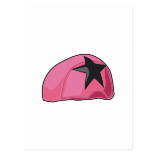 Pink Helmet Postcard