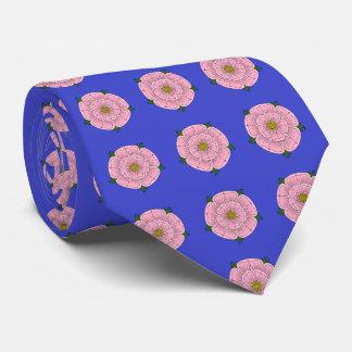 Pink Heraldic Rose Tie