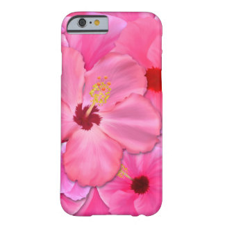 Pink Hibiscus Barely There iPhone 6 Case