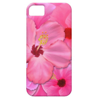 Pink Hibiscus Case For The iPhone 5