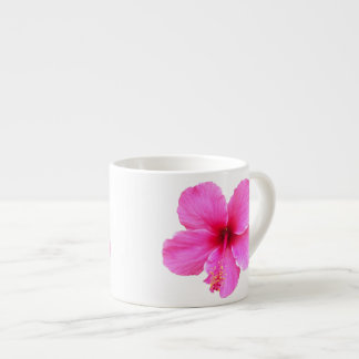 Pink Hibiscus Espresso Mug