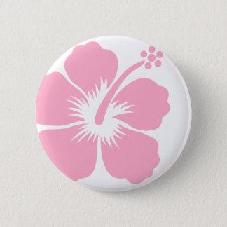 Pink hibiscus F 6 Cm Round Badge