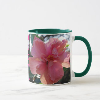 Pink Hibiscus in Hawaii Mug