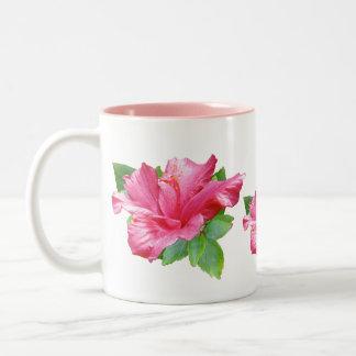 Pink Hibiscus Mug