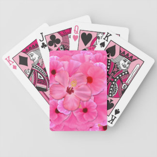Pink Hibiscus Card Decks