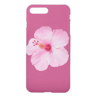 Pink Hibiscus Tropical Flower iPhone 8 Plus/7 Plus Case