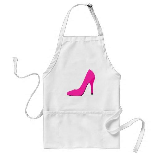 Pink High Heel Aprons