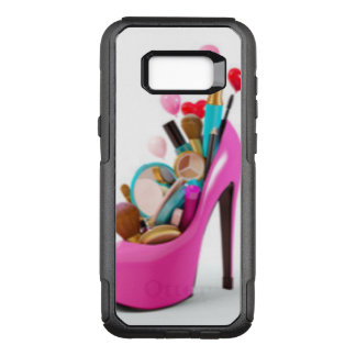 Pink High Heel & Cosemetic OtterBox Commuter Samsung Galaxy S8+ Case