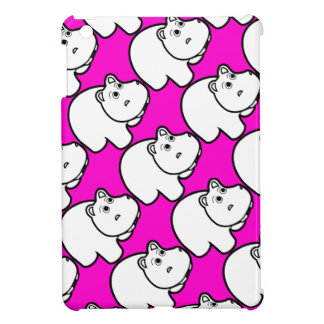 Pink Hippo Case For The iPad Mini