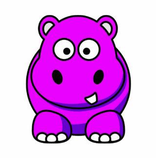 Pink Hippo  Photo Sculpture