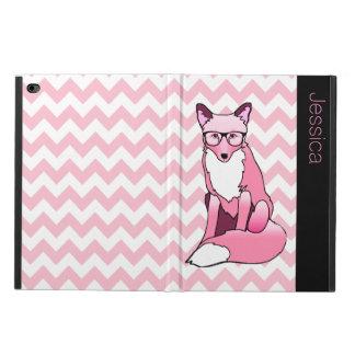 Pink Hipster Fox Custom iPad Air 2 Case
