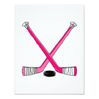Pink Hockey Card