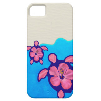 Pink Honu Turtles Barely There iPhone 5 Case