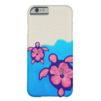 Pink Honu Turtles Barely There iPhone 6 Case