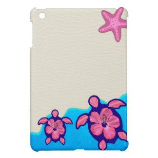 Pink Honu Turtles Case For The iPad Mini