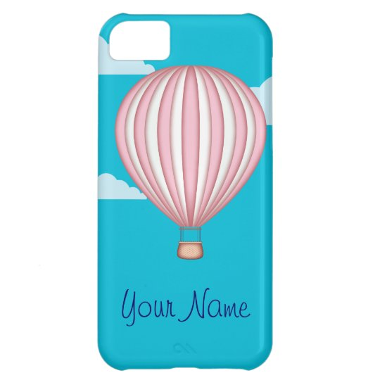 Pink Hot Air Baloon iPhone 5C Case
